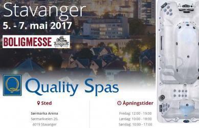 Finn ditt massasjebad på boligmessen i Stavanger, 5-7 mai 2017