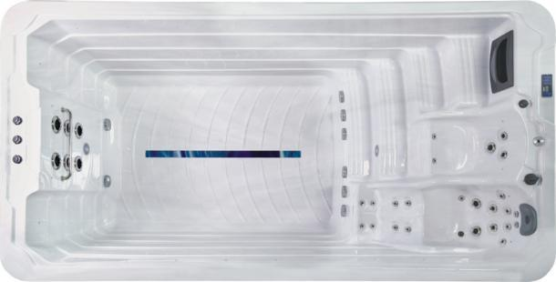 Motstrømsbasseng Quality Spas Artic 44 Elite TopHorisontal
