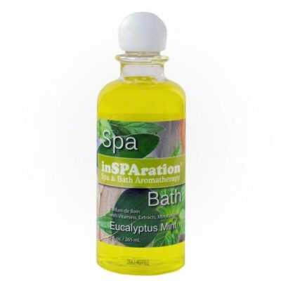Aromaolje Eucalyptus Mint for massasjebad fra Quality Spas