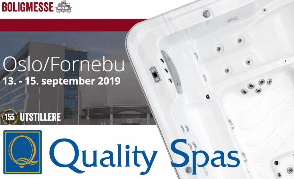 Massasjebad på boligmessen pa fornebu 13-15 september 2019