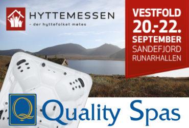 Massasjebad på Hyttemessen i Sandefjord 20-22 september 2019