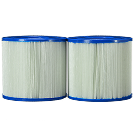 PRB17.5sf-pair filter for massasjebad front-view