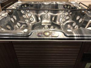 Brukt CalSpas Massasjebad for 7 personer CBA 50 SN09-08364 fra Quality Spas - top-side