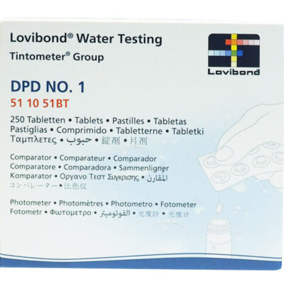 Test tabletter DPD NO. 1 (photometer) brett á 10 stk. for Massasjebad og Motstromsbasseng - Quality Spas 511051BT