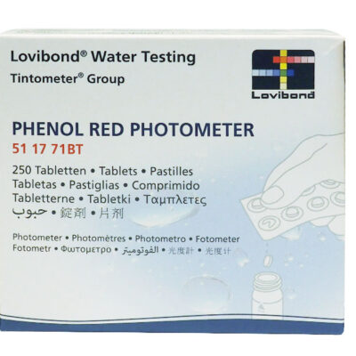 Test tabletter Penol Red (Photometer) brett á 10 tabletter for Massasjebad og Motstromsbasseng - Quality Spas 511771BT