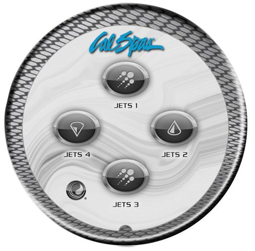 CalSpas kontrollpanel AUX l for massasjebad fra Quality Spas