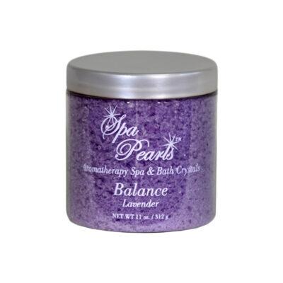spa pearls balance lavender