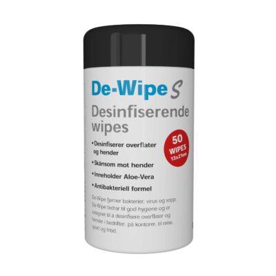 De-Wipe Desinfiserende Wipes