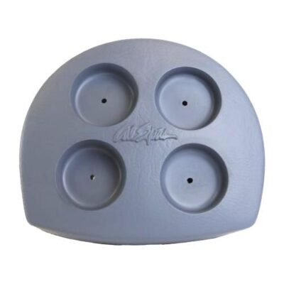 Filter Lid Small Silver '02 (4 boks-holdere)
